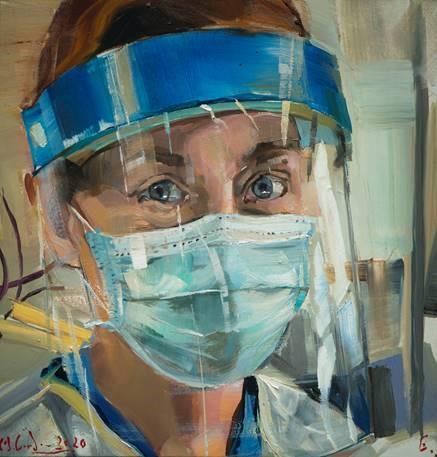 Gordon Heldenportrait Endoskopieschwester | Sankt Gertrauden-Krankenhaus