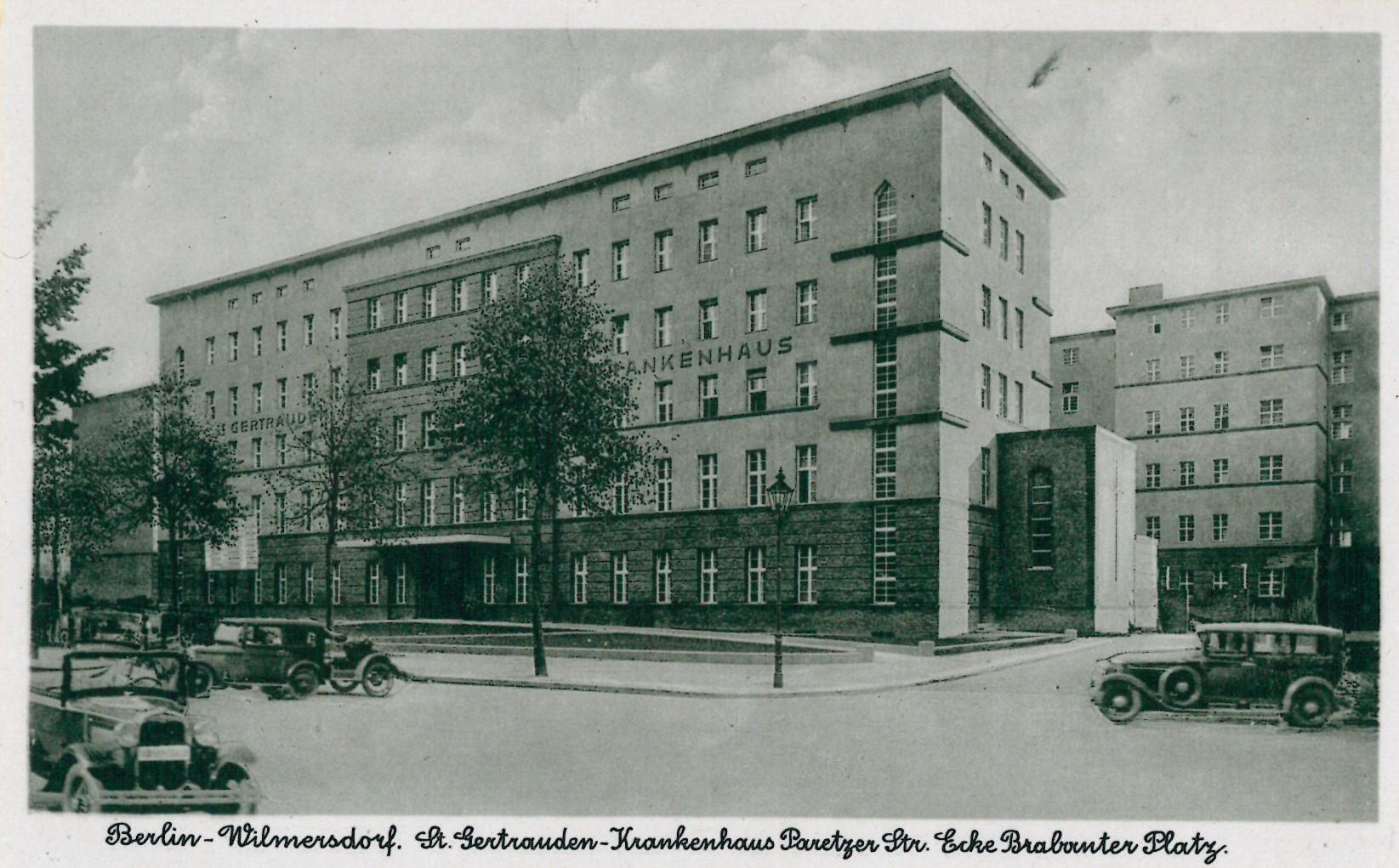 Sankt Gertrauden-Krankenhaus 1930