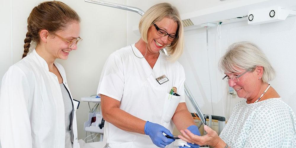 Diabetolgie Diabetisches Fußzentrum | Sankt Gertrauden-Krankenhaus