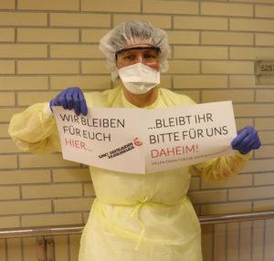 Corona Zuhause bleiben | Sankt Gertrauden-Krankenhaus