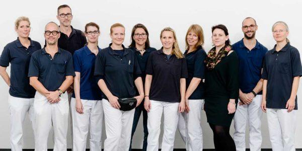 Team der Abteilung für Therapie | Sankt Gertrauden-Krankenhaus Berlin