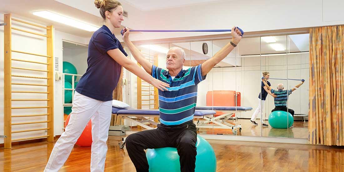 Abteilung für Therapie - Physiotherapie| Sankt Gertrauden-Krankenhaus Berlin